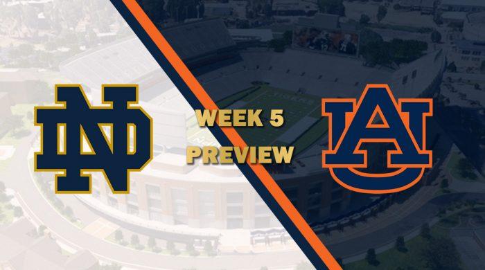 Notre Dame vs Auburn