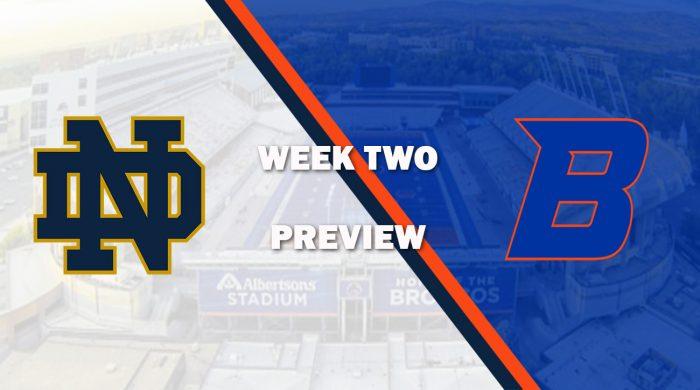 Notre Dame vs Boise