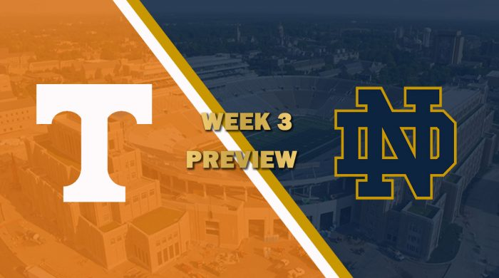 Tennessee vs Notre Dame