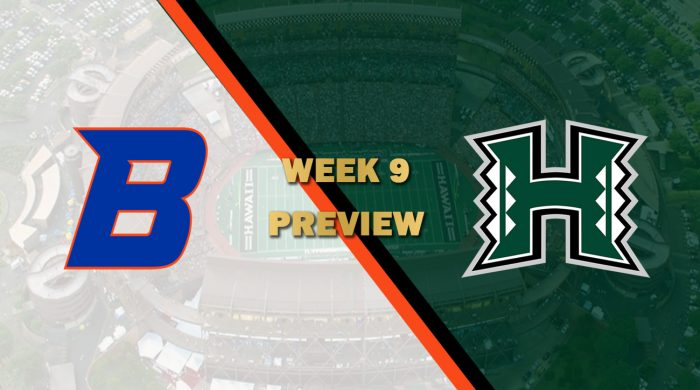 Boise State vs Hawaii