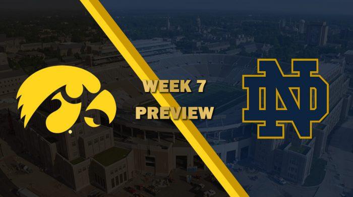 Iowa vs Notre Dame