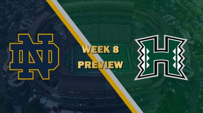 Notre Dame vs Hawaii