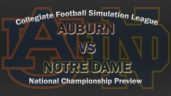 Auburn vs Notre Dame