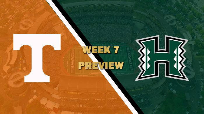 Tennessee vs Hawaii