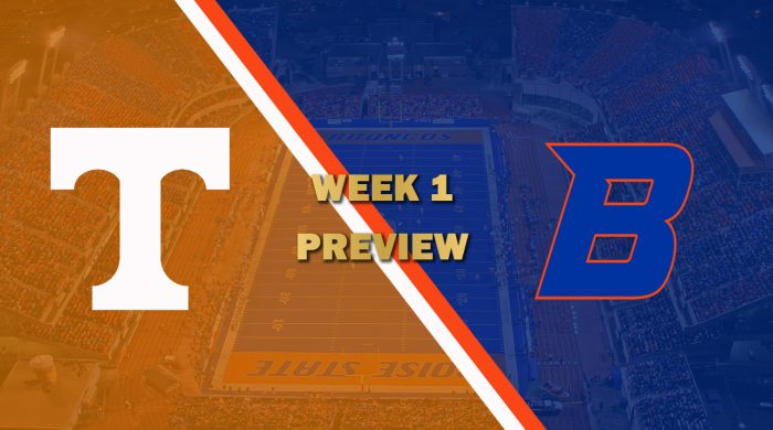 Tennessee vs Boise