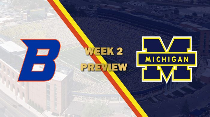 Boise State vs Michigan