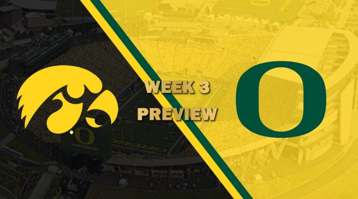 Iowa vs Oregon