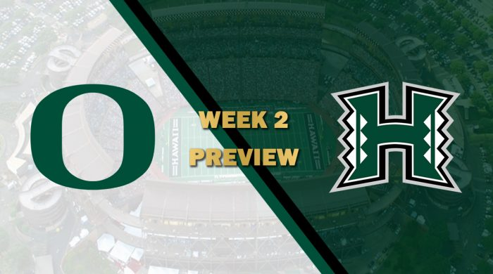 Oregon vs Hawaii