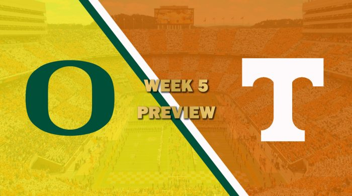 Oregon vs Tennessee