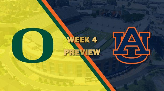 Oregon vs Auburn