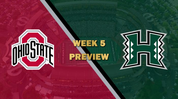 Ohio State vs Hawaii