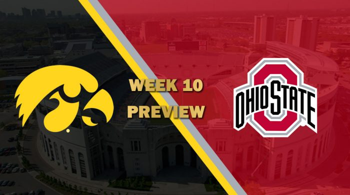Iowa vs Ohio State
