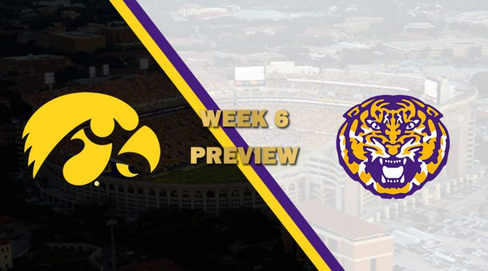 Iowa vs LSU