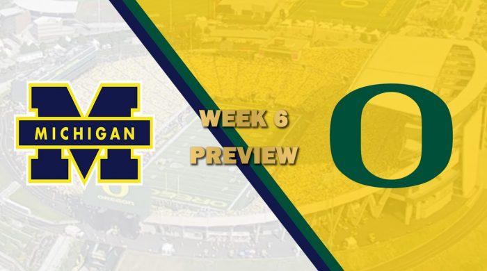 Michigan vs Oregon