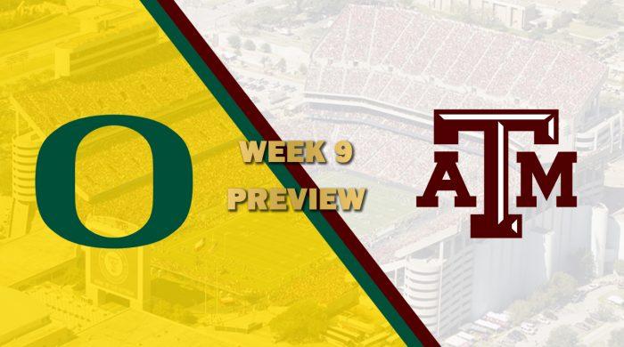 Oregon vs Texas A&M