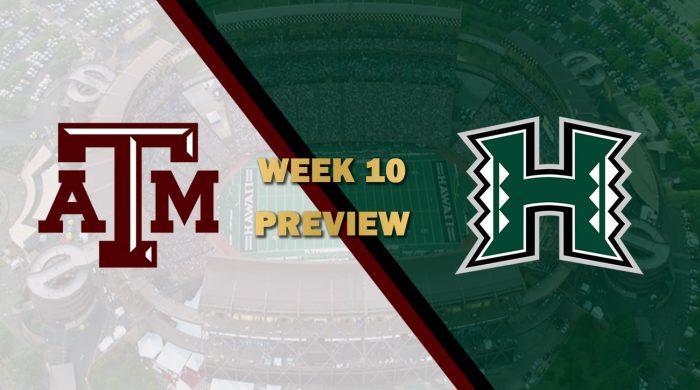 Texas A&M vs Hawaii