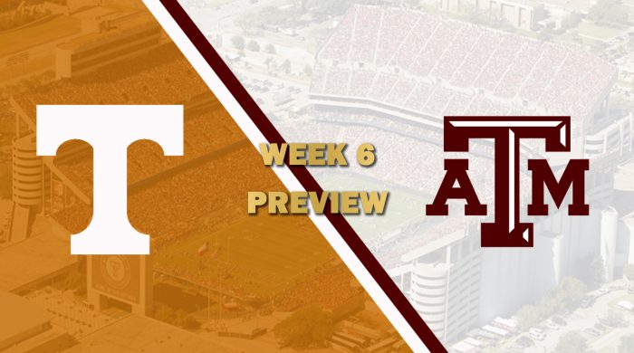 Tennessee vs Texas A&M