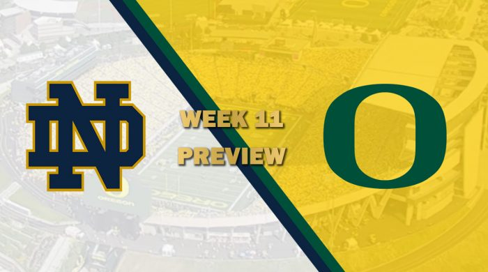 Notre Dame vs Oregon