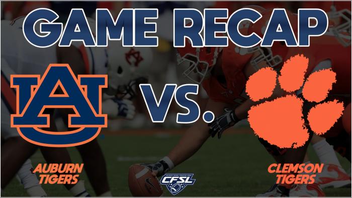 Clemson vs Auburn